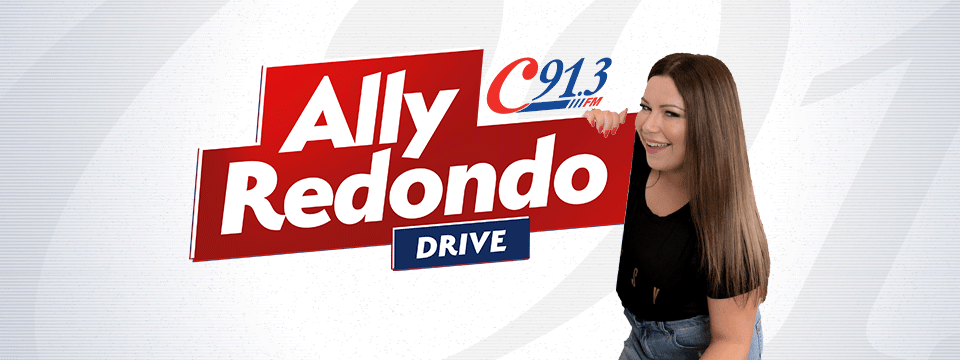 Drive, weekdays from 3pm with Ally Redondo