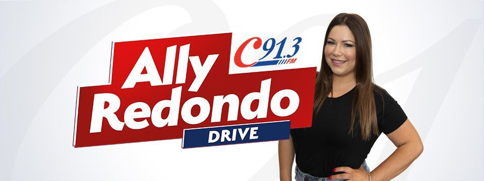 Drive with Ally Redondo, weekdays from 3!