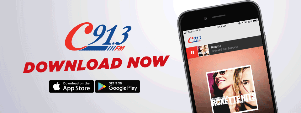 Listen anywhere with the C91.3FM App
