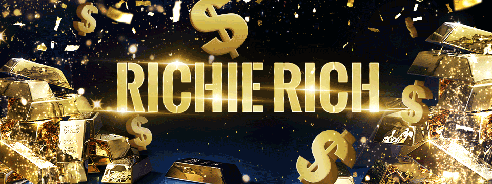 Play Riche Rich with Christian and Bella every Monday during Macarthur Breakfast!