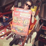 You'd be mad to miss the mayhem #milwaukee sale on until Saturday here at #totaltools Gregory Hills where the sales are getting wheeled out the door (Dana included)! Need new work tools, like free stuff? Then come down and see the guys at Total Tools (: #LaurenC913 #DanaC913  #freebies #3daysale