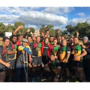 Marina and the Winning Campbelltown Harlequins. Smiles for Miles #c913marina #roadcrew #harlequins #campbelltown