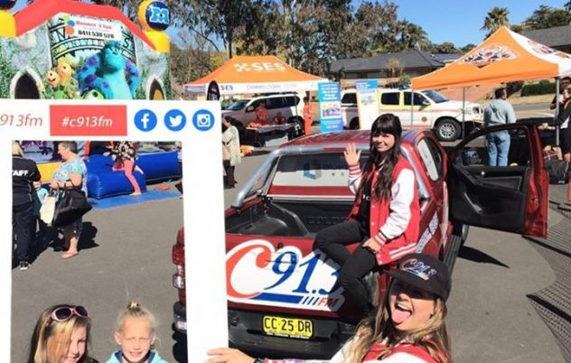 The Roadies are at Eaglevale Central Free Family…