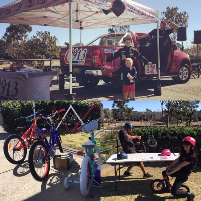 The roadies are gearing up at Marsden Park in…