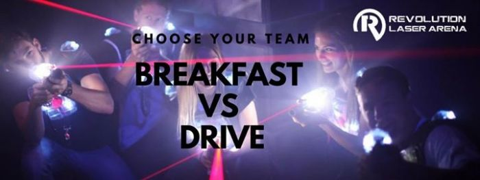 Breakfast vs Drive - who will win?  The epic…