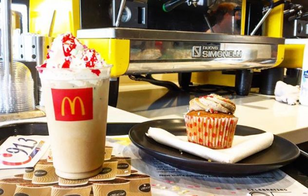 McCafé is 25 today!! To celebrate McDonalds…