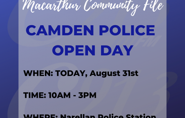 Catch the C91.3FM Road Crew at the Camden Police…