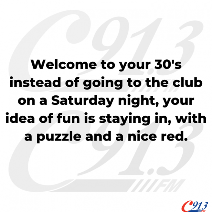 Are you in the 30 club?