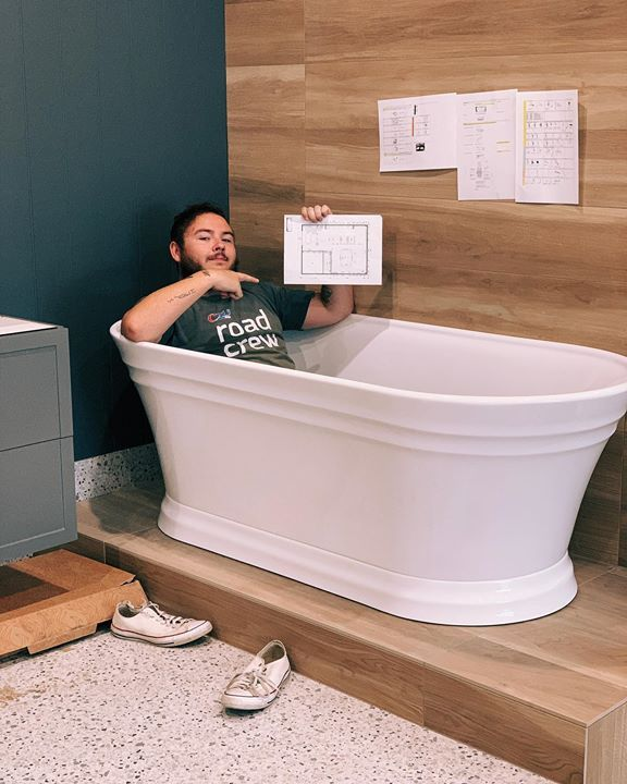 James is bathing 🛁 in design choices here at…