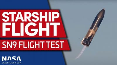 Launch #2, attempt #3 for the Starship SN9 will…